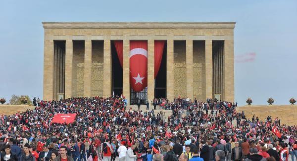 Anıtkabir'de Çeyrek Milyon Ziyaret