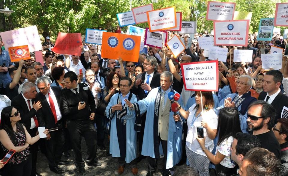 Gazi Üniversitesi'nde bölünme protestosu
