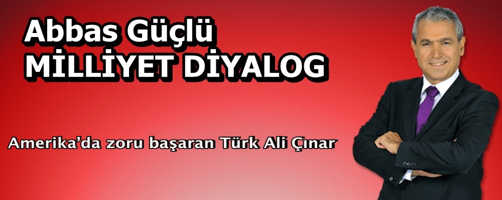 Amerika'da zoru başaran Türk Ali Çınar