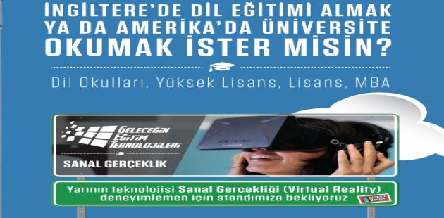 Amerika ve İngiltere'nin En Seçkin Okulları İstanbul'a Geliyor!