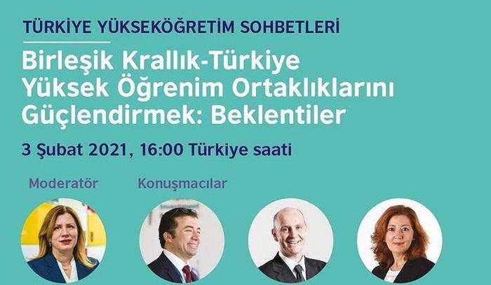 British Council, Türkiye Yükseköğretim Sohbetlerinin 3'üncü oturumu yarın!
