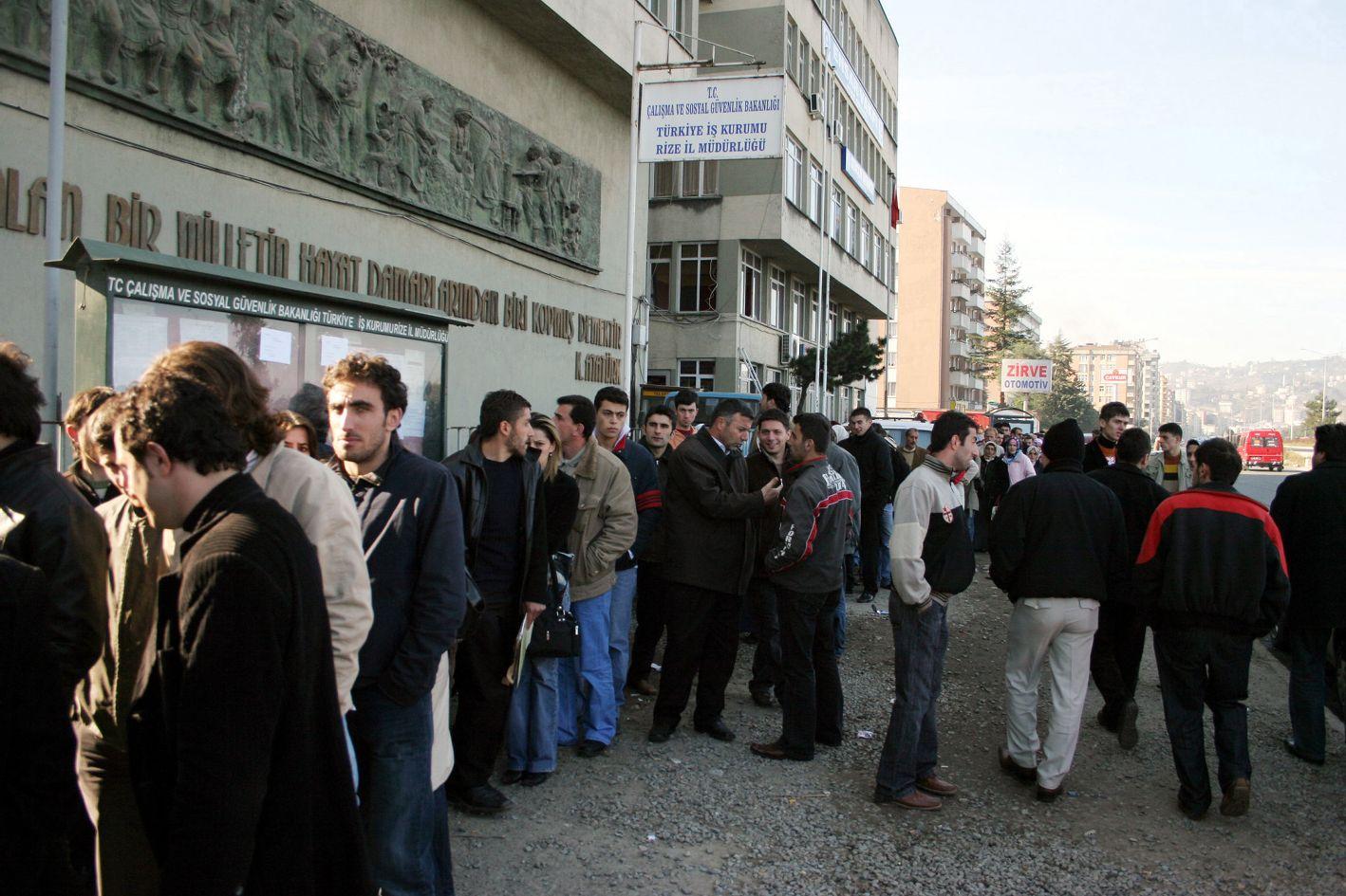 Türkiye İşsizlik Oranı Açıklandı