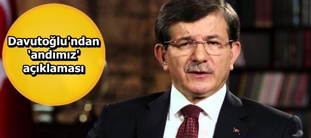 Davutoğlu'ndan 'andımız' açıklaması