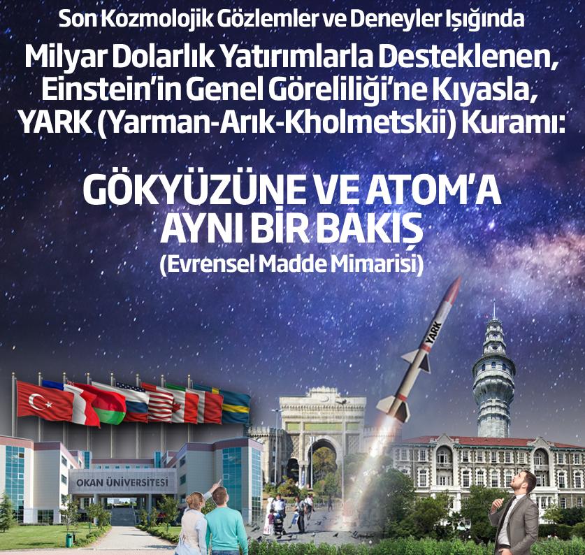 """Einstein'ın """"Genel Görelilik Teorisi""""ni sorgulayan Türk bilim adamları araştırmalarının sonuçlarını paylaşacak"""