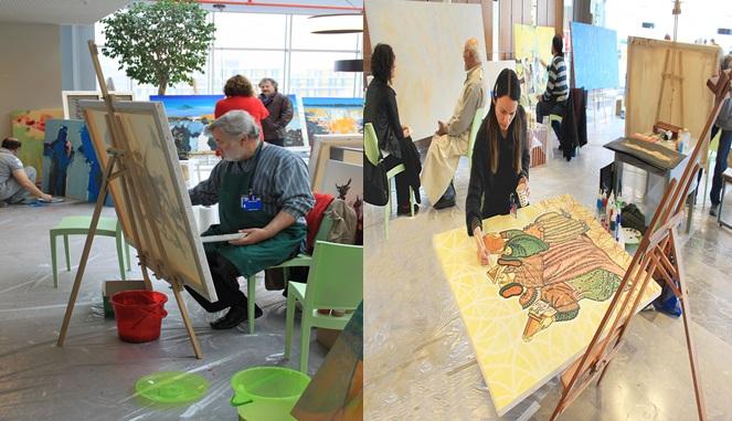 23 Ülkeden 58 Sanatçı Özyeğin Üniversitesi'nde Buluştu