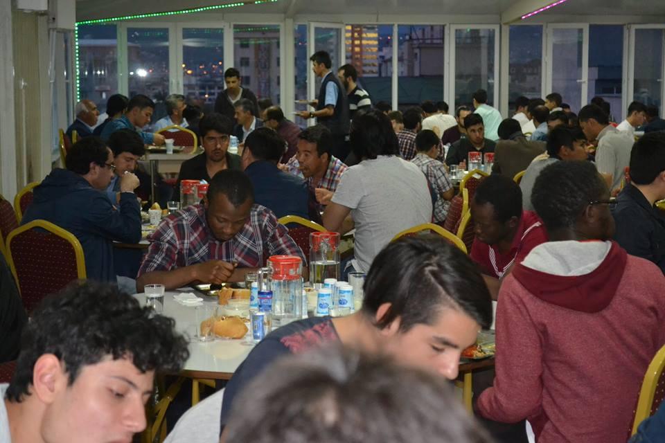 KUDER 80 farklı ülkeden misafir öğrenciyi aynı sofrada buluşturdu