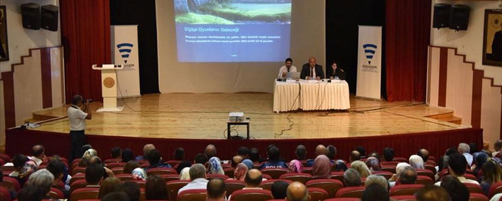 SODİGEM'den 'Sosyal medya ve dijital oyunlar' paneli