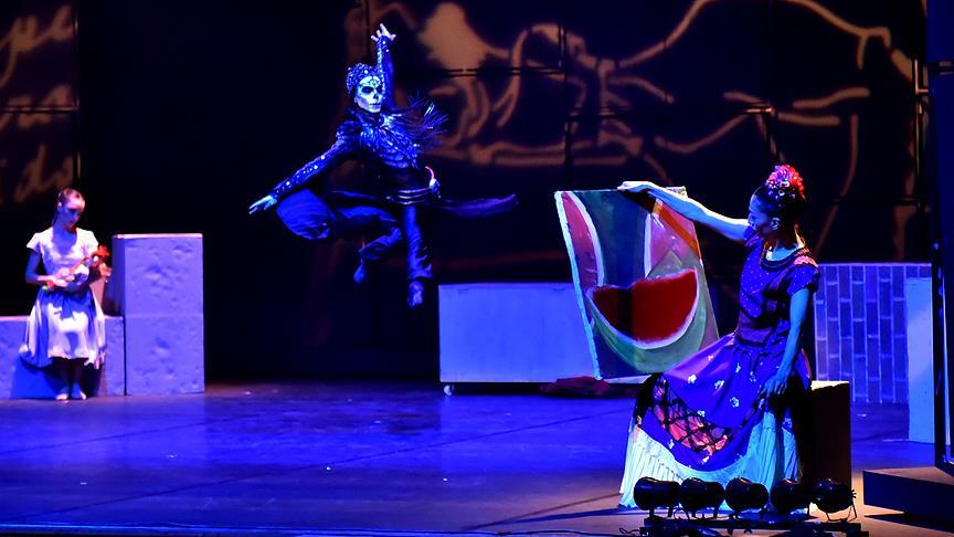 Modern dans 'Frida' yeniden sahnede