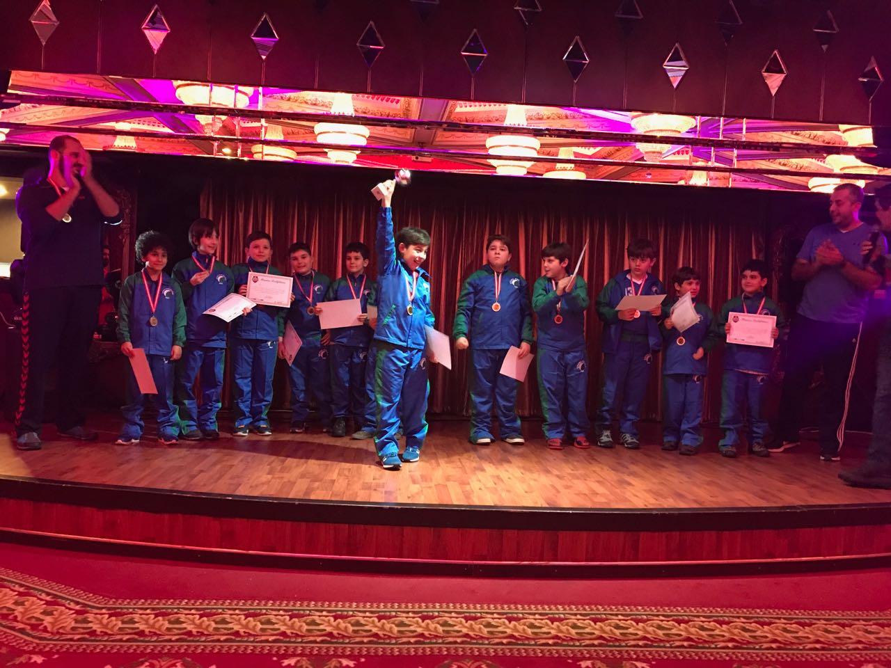 17. PowerBulls Kış Kampı Turnuvasında Şampiyon Çevre Koleji!