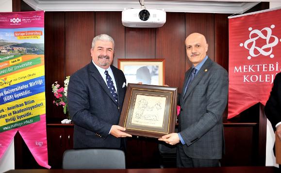 Maltepe Üniversitesi ve Mektebim Koleji, Eğitimde İşbirliği Anlaşması İmzaladı