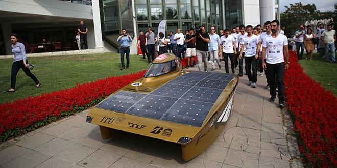 İTÜ'nün güneş enerjili otomobili Avustralya yolcusu