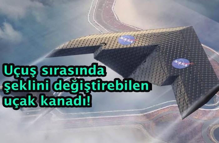 Uçuş sırasında şeklini değiştirebilen uçak kanadı geliştirildi