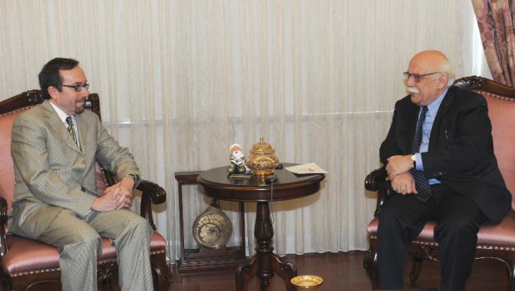 Bakan Avcı, ABD Büyükelçisi'ni Kabul Etti