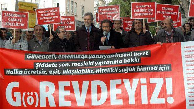 Sağlık Çalışanları 13 Mart'ta Grev Kararı Aldı