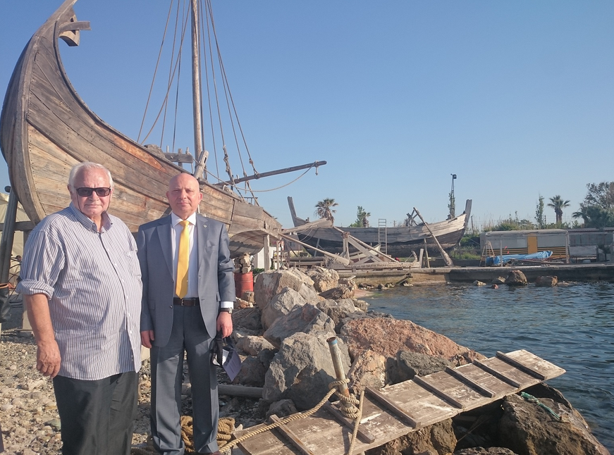İki Bin Yıllık Roma Limanı Aynı Yerinde Canlanıyor