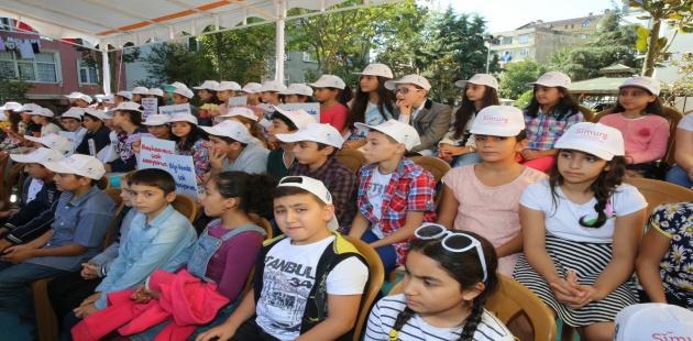 Eyüp'lü Çocuklar Simurg'la Tanıştı