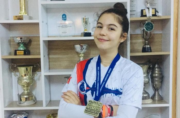 Doğa Koleji öğrencisi'nden Salon Okçuluk Dünya Kupası'nda büyük başarı