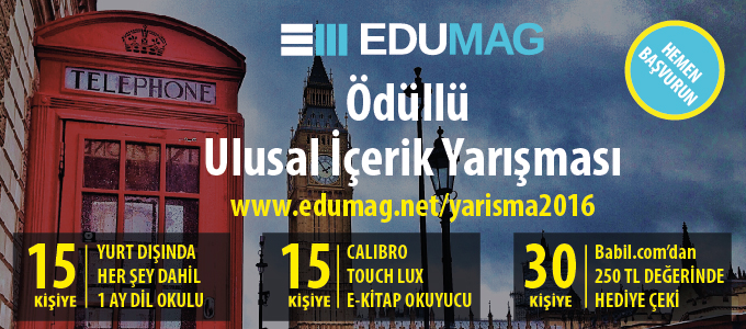 EDUMAG Ulusal İçerik Yarışması ile Yurtdışında Eğitim Bursu Seni Bekliyor!