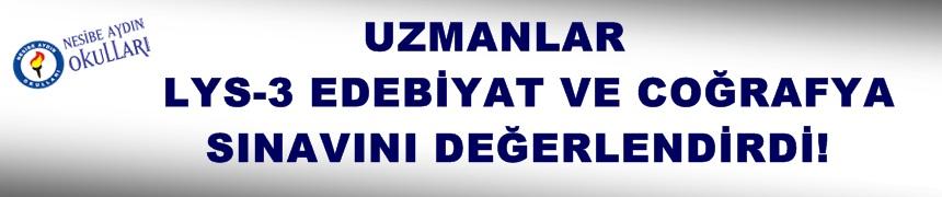 Uzmanlar Türk Dili ve Edebiyatı ve Coğrafya Sınavlarını Değerlendirdi