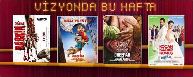 Bu hafta 3'ü yerli 6 film vizyona girdi