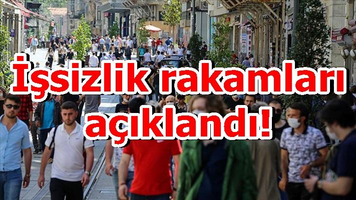Türkiye'de işsizlik rakamları açıklandı!