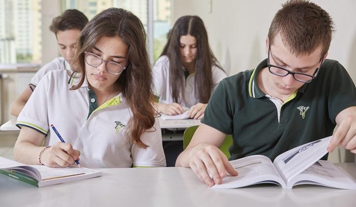 Doğa Koleji Bursluluk Sınavı Pandemi Kuralları ile Yapıldı