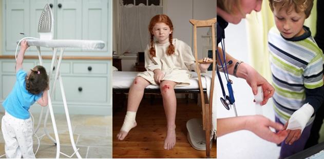 Ev Kazası Geçiren Çocuğa Uygulanacak İlk Yardım Kuralları