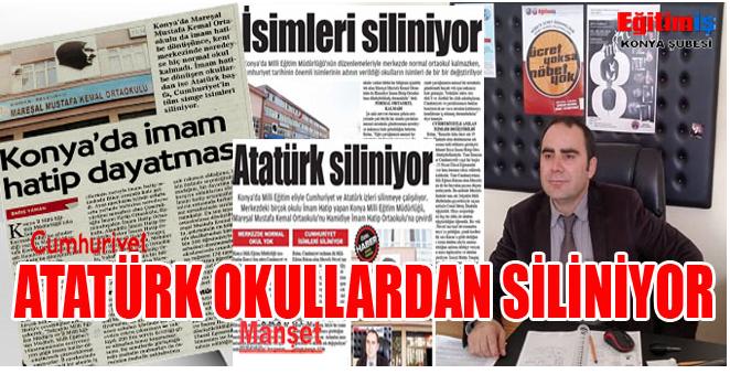 Atatürk Okullardan Siliniyor