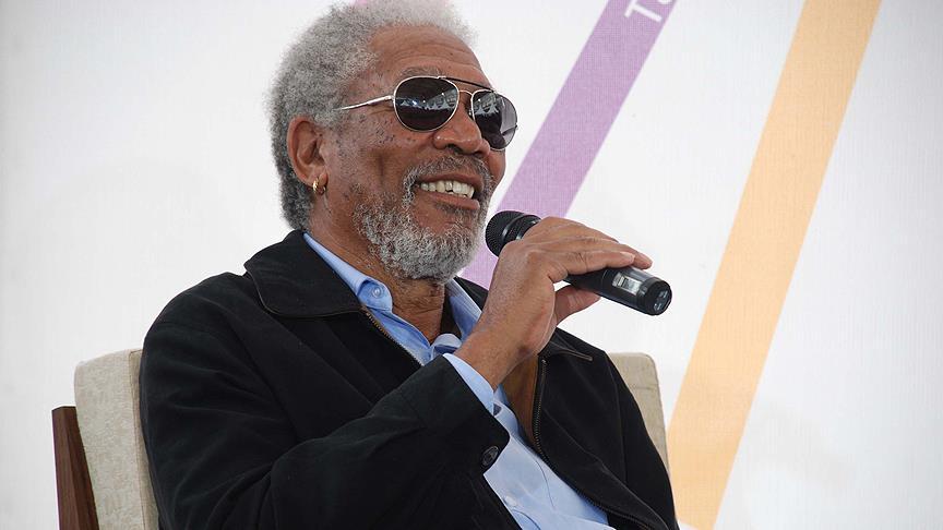 Morgan Freeman belgesel çekimi için Konya'da
