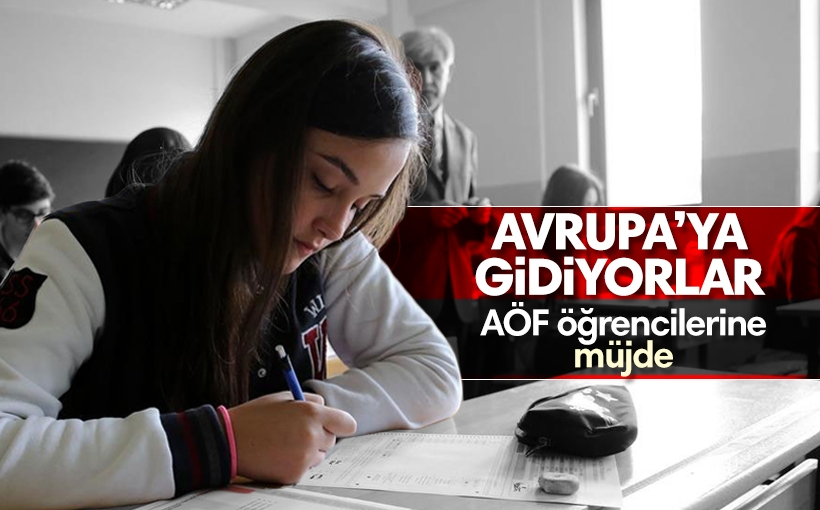 Açıköğretim öğrencilerine Avrupa fırsatı