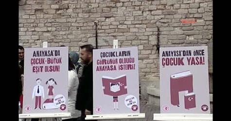 Çocuk Vakfı'ndan Türkiye'nin Çocuk ve Anayasa Ödevi İçin Çağrı