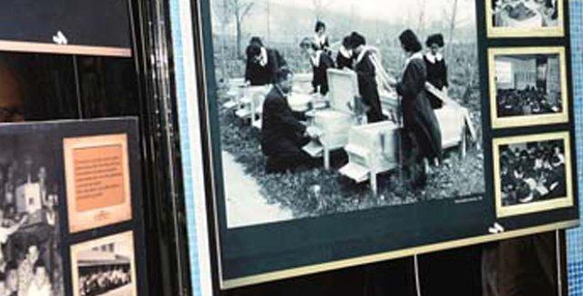 "Ankara Kızılay Metro Sanat Galerisinde ""Öğretmenim"" sergisi"