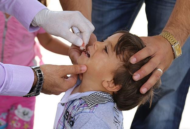 Çocuk felci aşısında yetersizlik yok