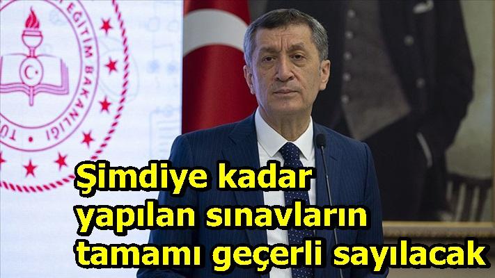 Bakan Selçuk'tan flaş sınav açıklaması!