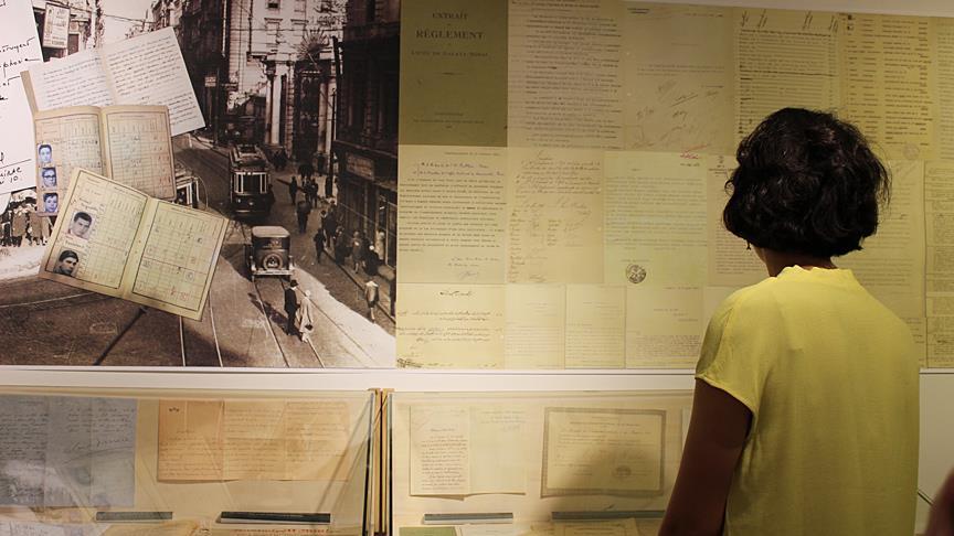 'Galatasaray Lisesi, 150 yıllık bir kültür ortaklığı' sergisi