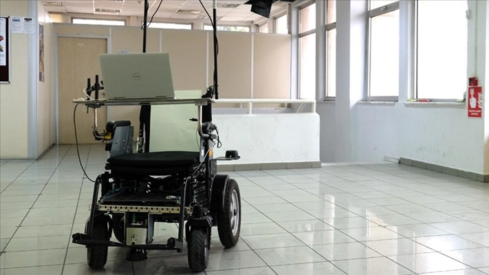 İTÜ'den yapay zekaya sahip otonom tekerlekli sandalye