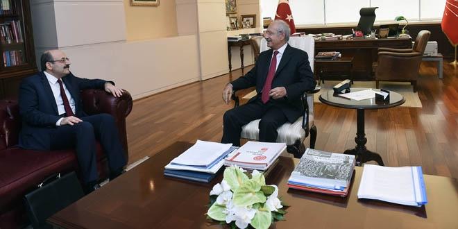 Kılıçdaroğlu ile YÖK Başkanı Saraç'tan basına kapalı görüşme