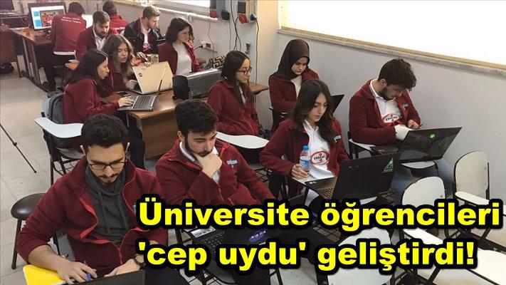 Üniversite öğrencileri 'cep uydu' geliştirdi!