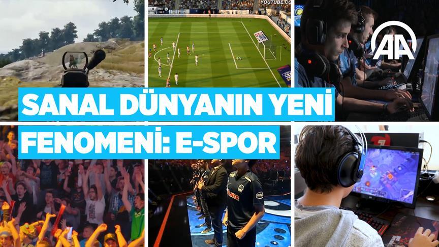 Sanal dünyanın yeni fenomeni: E-Spor