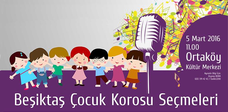 Beşiktaş Çocuk Korosu Kuruluyor! Başvurular için 4 Mart son gün!