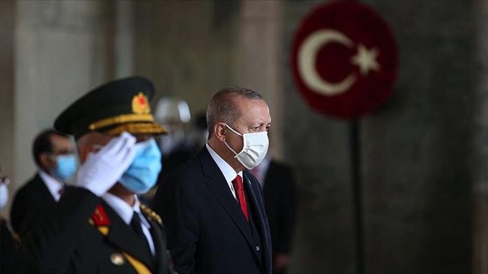 Atatürk'ün ebediyete intikalinin 82'nci yılında Anıtkabir'de tören düzenlendi