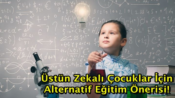 Üstün Zekalı Çocuklar İçin Alternatif Eğitim Önerisi!