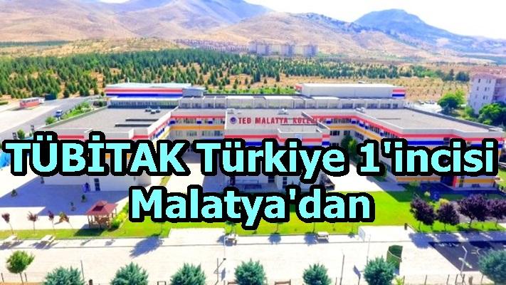 TÜBİTAK Türkiye 1'incisi Malatya'dan