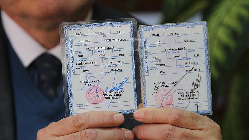 Artık nüfus cüzdanlarında 'bekar' yerine 'bekâr' yazacak