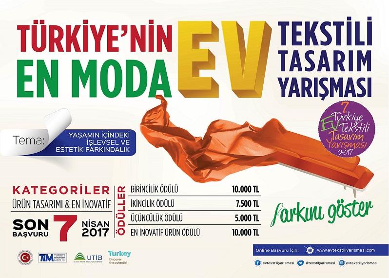 Uludağ Tekstil İhracatçıları Birliği Genç Yetenekleri Yarışmaya Davet Ediyor!