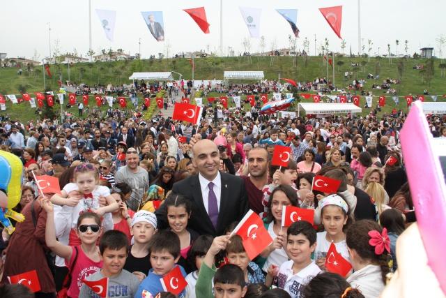 Bakırköy Belediyesi 23 Nisan'da özel çocukları unutmadı