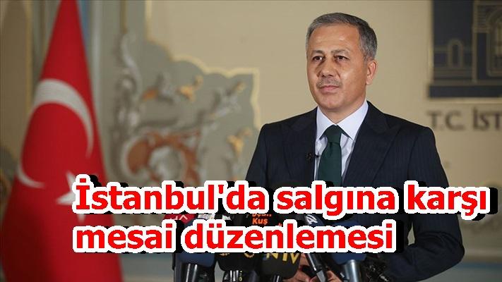 İstanbul'da salgına karşı mesai düzenlemesi