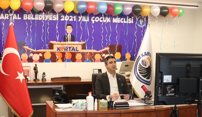 Kartal Belediyesi Çocuk Meclisi'nin Üçüncü Oturumu Gerçekleştirildi