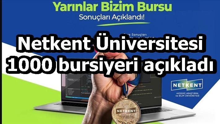 """Netkent Üniversitesi, """"1 milyon yazılımcı"""" hedefine katkı sunacak bursiyerleri açıkladı"""