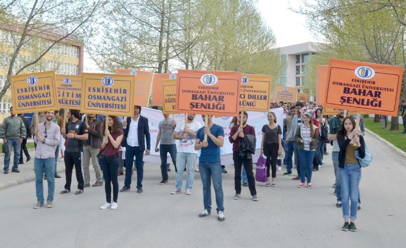 ESOGÜ'de 2015 Bahar Şenlikleri Başladı